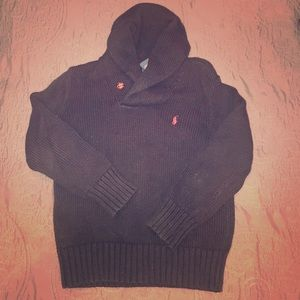 Size 6 Ralph Lauren sweater with Cowl neck
